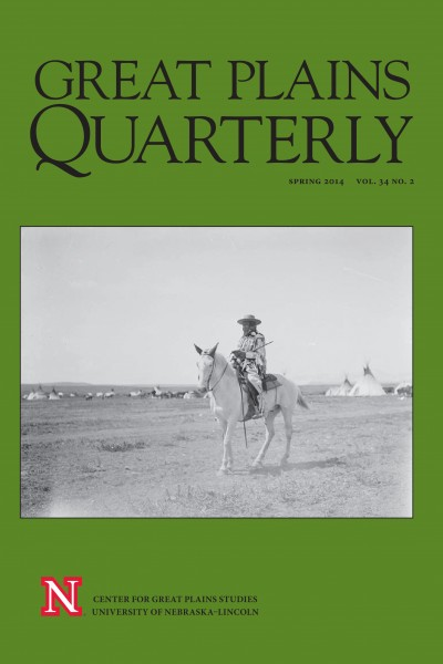 Great Plains Quarterly looks at criminal justice in Montana Blackfoot tribes