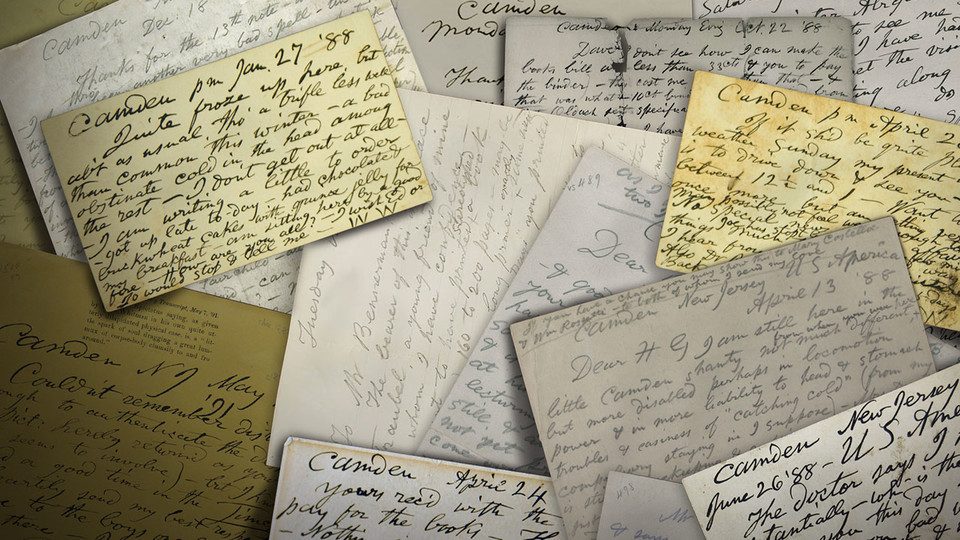 Whitman Archive continues publishing literary giant's letters