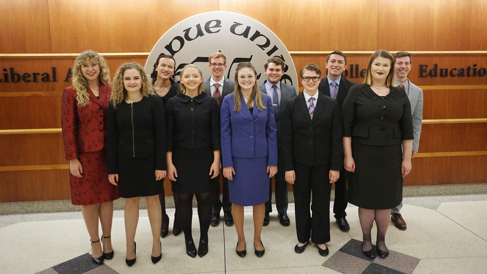 Husker speech and debate team wins Big Ten title