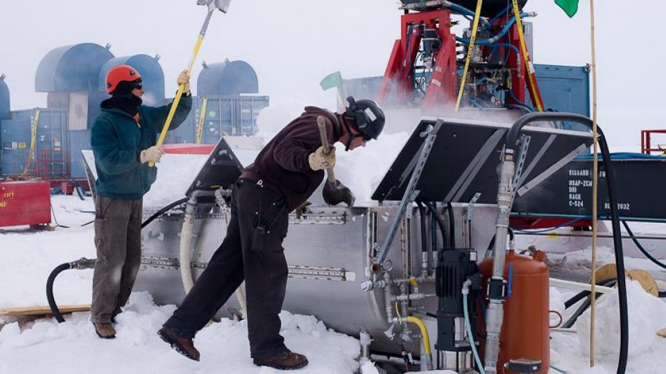 UNL drill powers discovery of microbes under Antarctic ice shelf