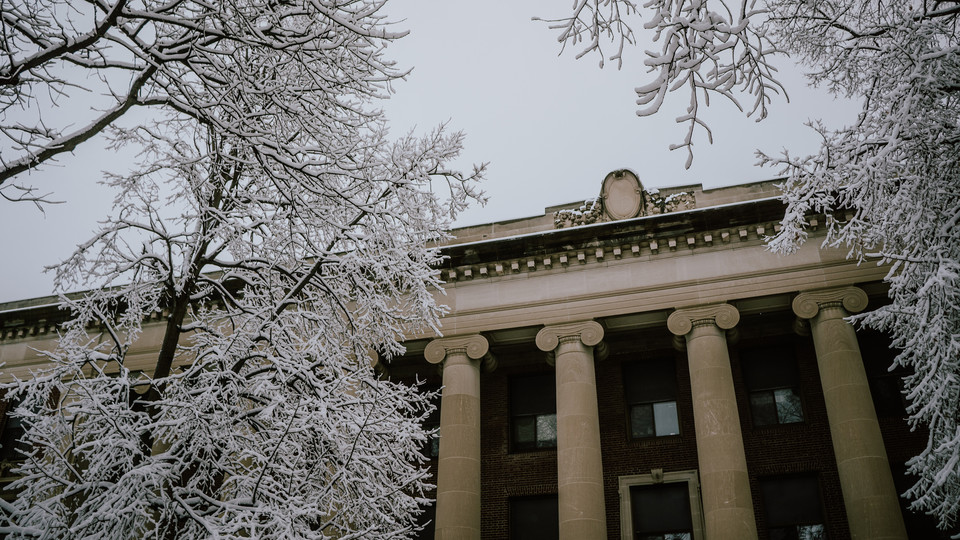 Photo Credit: Snowy campus