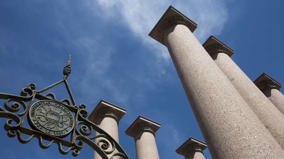 Photo Credit: Columns on campus