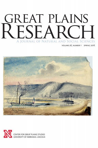 Photo Credit: Great Plains Research cover