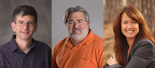 Chad Brassil, Calvin Garbin, Patrice McMahon