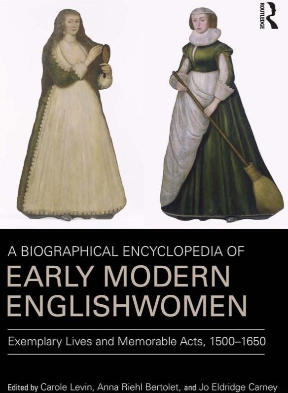 Photo Credit: Cover of A Biographical Encyclopedia of Early Modern Englishwomen